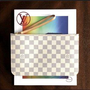 LOUIS VUITTON Azure Wristlet/Clutch